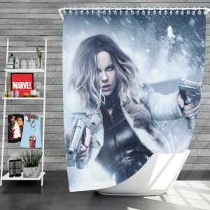 Underworld Blood Wars Movie Kate Beckinsale Selene Shower Curtain