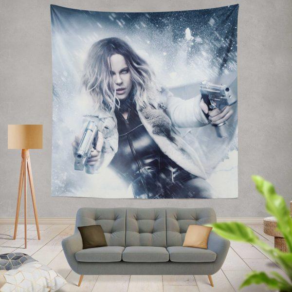 Underworld Blood Wars Movie Kate Beckinsale Selene Wall Hanging Tapestry