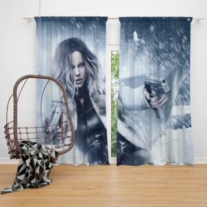Underworld Blood Wars Movie Kate Beckinsale Selene Window Curtain