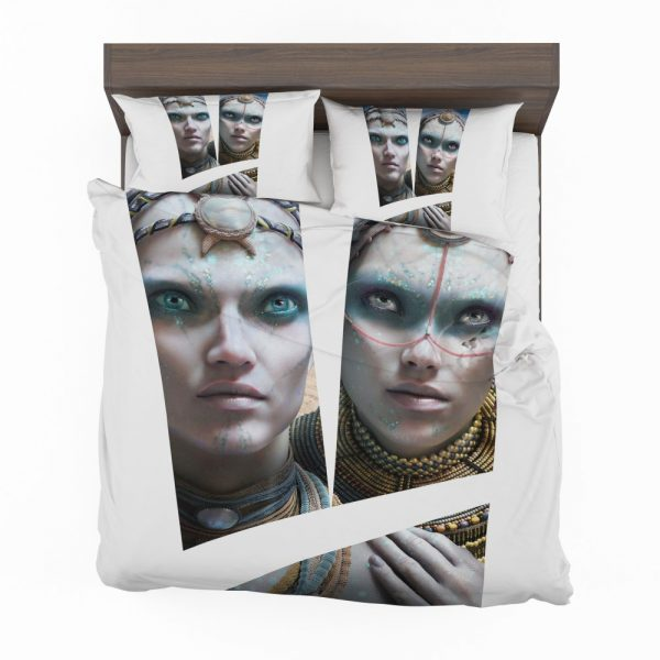 Valerian and the City of a Thousand Planets Movie Cara Delevingne Sergeant Laureline Bedding Set 2