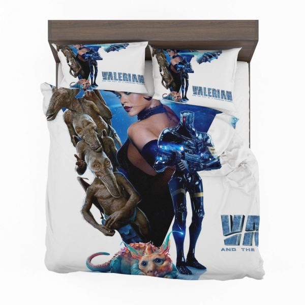 Valerian and the City of a Thousand Planets Movie Rihanna Bedding Set 2
