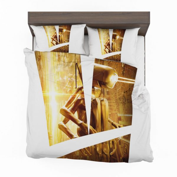 Valerian and the City of a Thousand Planets Movie Robot Bedding Set 2