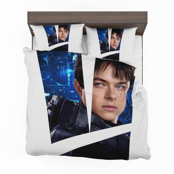 Valerian and the City of a Thousand Planets Movie Valerian Dane Dehaan Bedding Set 2