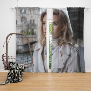 Vanessa Kirby in Mission Impossible Fallout Movie Window Curtain