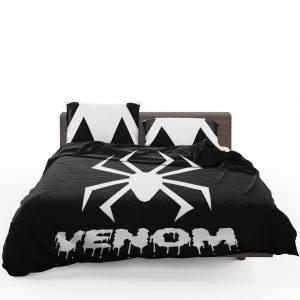 Venom Movie Black Shapes Symbol Venom Bedding Set 1