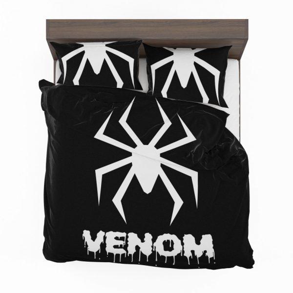 Venom Movie Black Shapes Symbol Venom Bedding Set 2