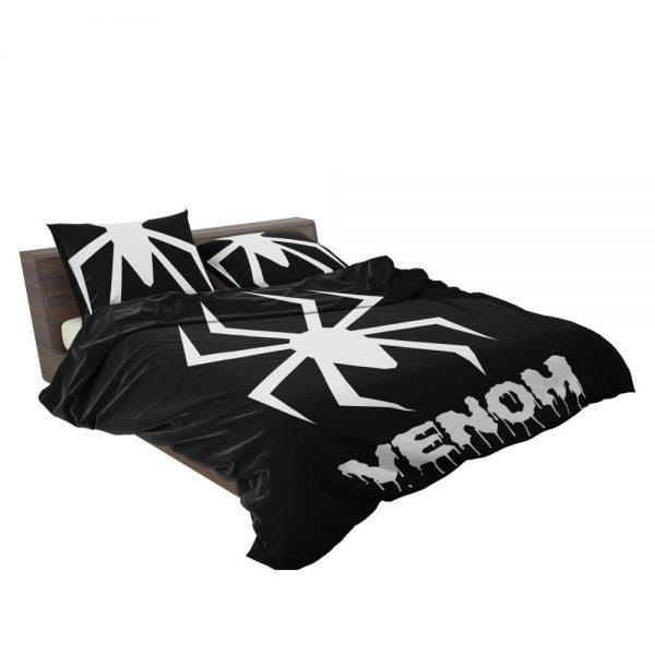 Venom Movie Black Shapes Symbol Venom Bedding Set 3
