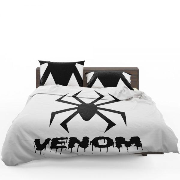 Venom Movie Black Symbol Bedding Set 1