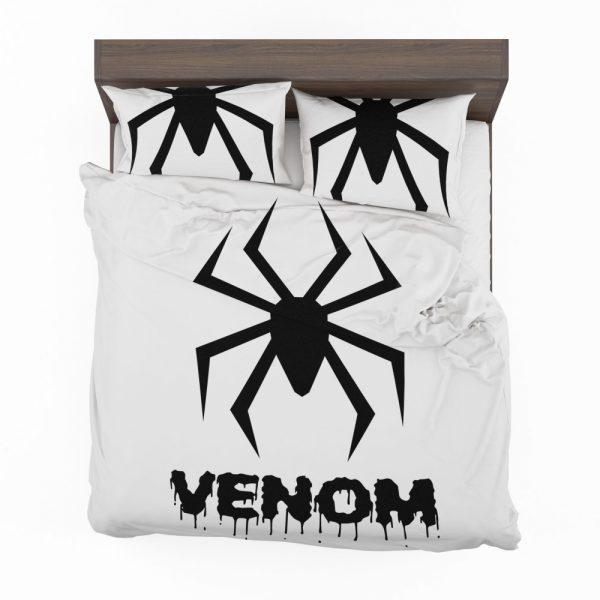 Venom Movie Black Symbol Bedding Set 2