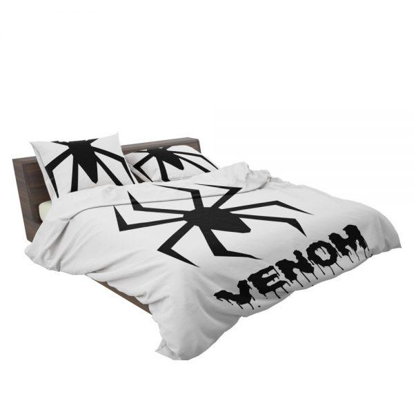 Venom Movie Black Symbol Bedding Set 3