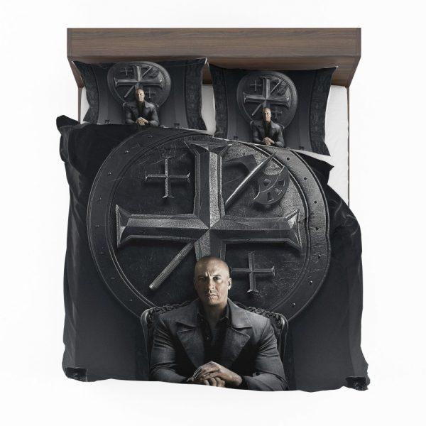 Vin Diesel in The Last Witch Hunter Movie Bedding Set 2