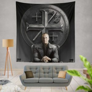 Vin Diesel in The Last Witch Hunter Movie Wall Hanging Tapestry