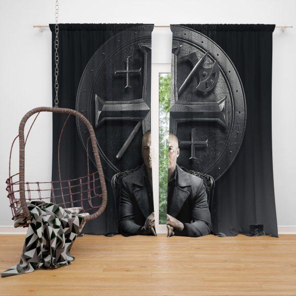 Vin Diesel in The Last Witch Hunter Movie Window Curtain