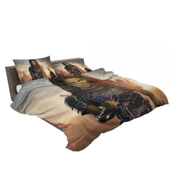 Warcraft Movie Armor Brunette Bedding Set 3