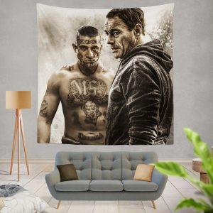 We Die Young Movie Jean‑Claude Van Damme Wall Hanging Tapestry