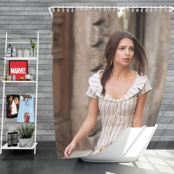 Welcome Home Movie American Braid Brunette Shower Curtain