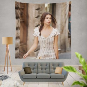 Welcome Home Movie American Braid Brunette Wall Hanging Tapestry