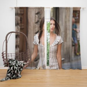 Welcome Home Movie American Braid Brunette Window Curtain