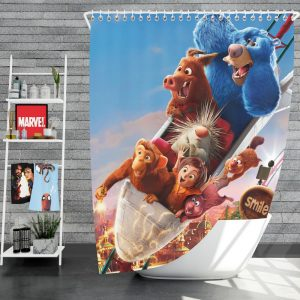 Wonder Park Movie Kids Shower Curtain