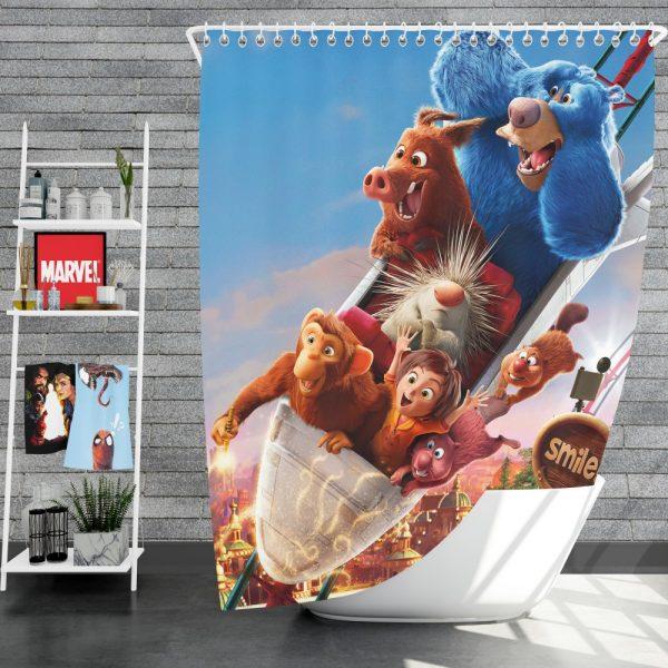 Wonder Park Movie Kids Shower Curtain