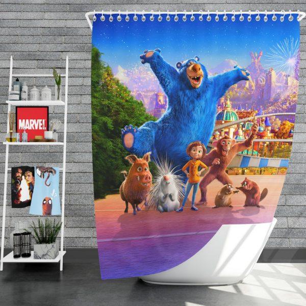 Wonder Park Movie Paramount Animation Shower Curtain