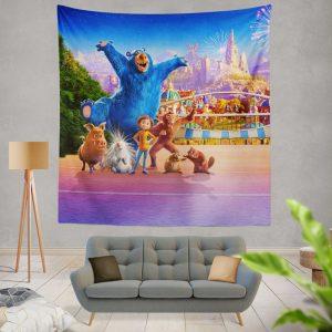 Wonder Park Movie Paramount Animation Wall Hanging Tapestry