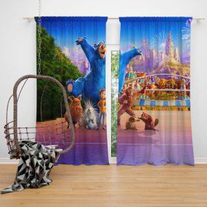 Wonder Park Movie Paramount Animation Window Curtain