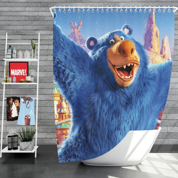 Wonder Park Movie Shower Curtain