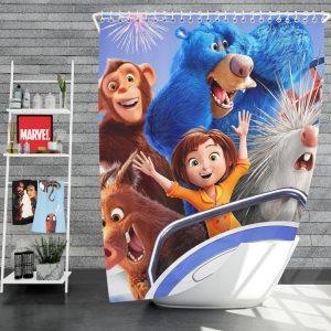 Wonder Park Movie Teens Shower Curtain