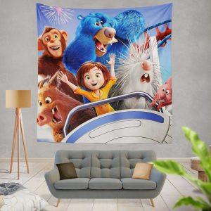 Wonder Park Movie Teens Wall Hanging Tapestry