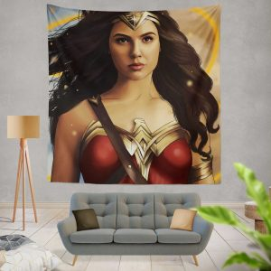 Wonder Woman Movie DC Comics Gal Gadot Woman Warrior Wall Hanging Tapestry