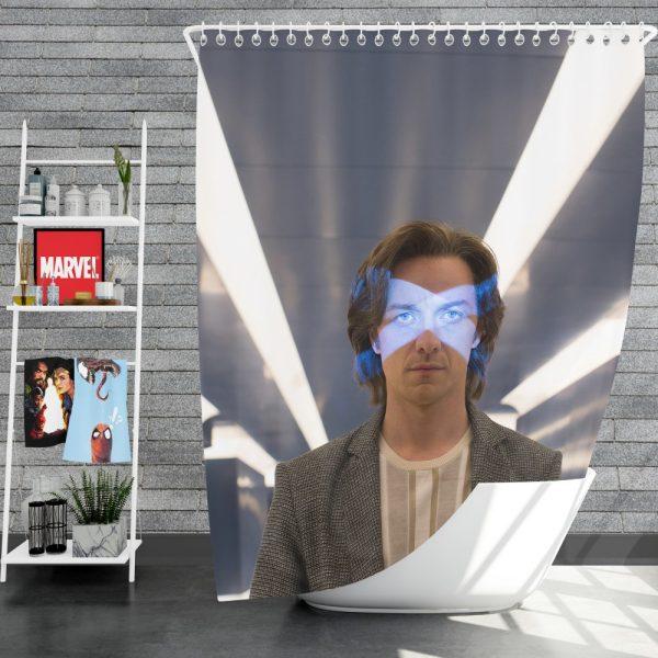 X-Men Apocalypse Movie James McAvoy Professor X Shower Curtain