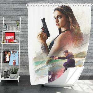 XXX Return of Xander Cage Movie Deepika Padukone Shower Curtain