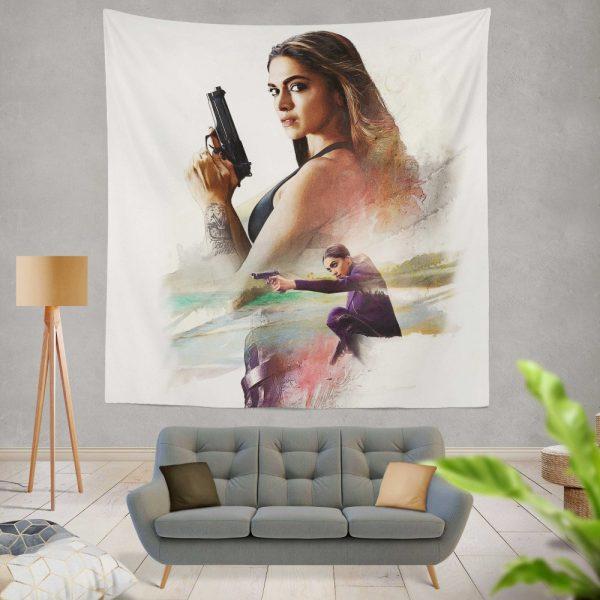 XXX Return of Xander Cage Movie Deepika Padukone Wall Hanging Tapestry