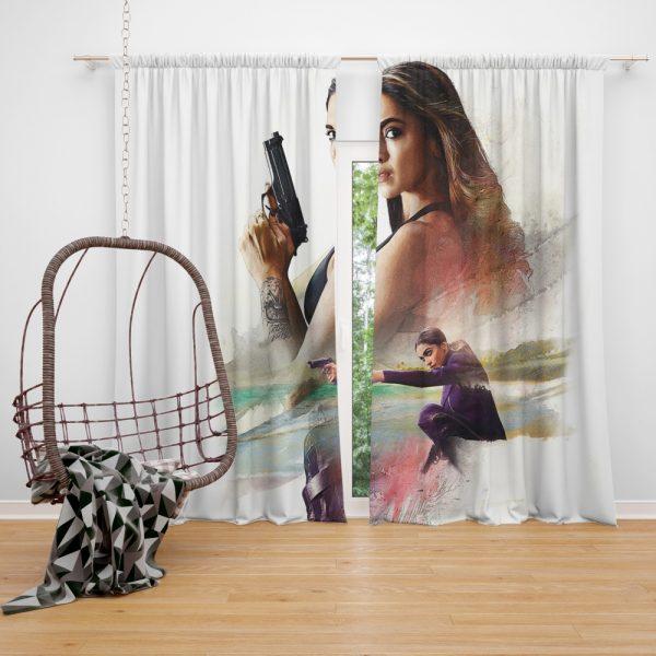 XXX Return of Xander Cage Movie Deepika Padukone Window Curtain
