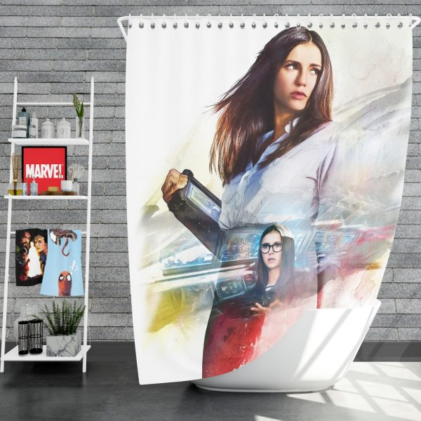 XXX Return of Xander Cage Movie Nina Dobrev Shower Curtain