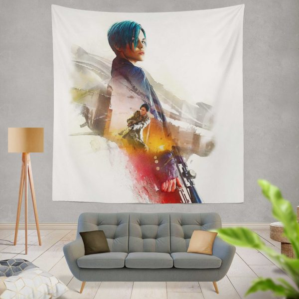 XXX Return of Xander Cage Movie Ruby Rose Adele Wolff Wall Hanging Tapestry