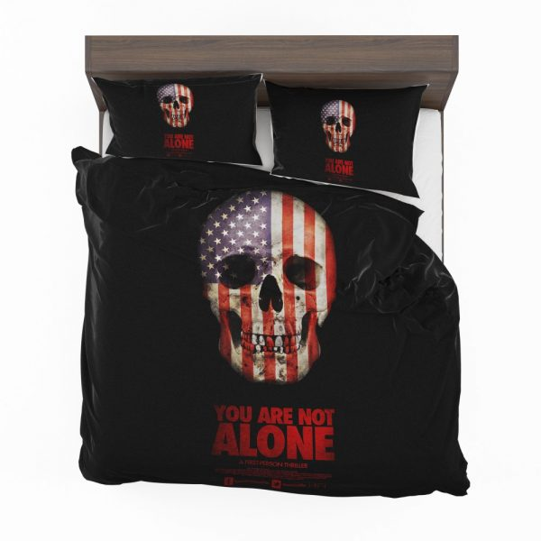 You Are Not Alone Movie Skull USA Bedding Set 2