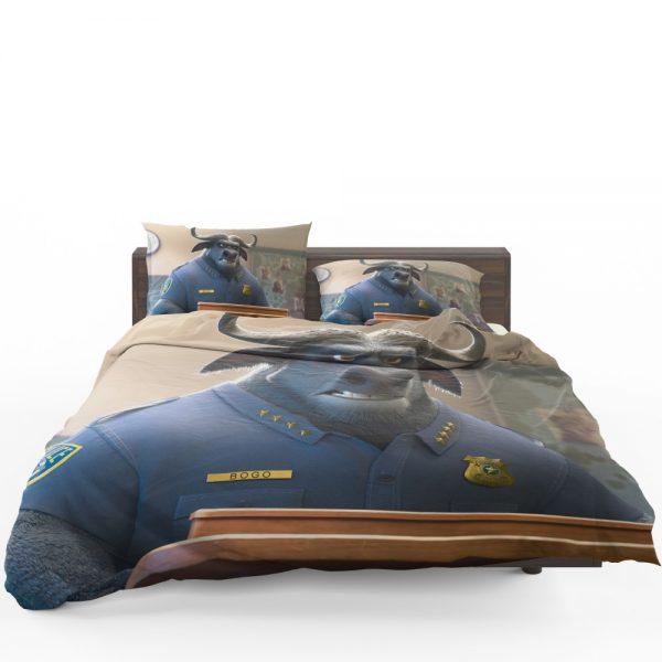 Zootopia Movie Chief Bogo Bedding Set 1