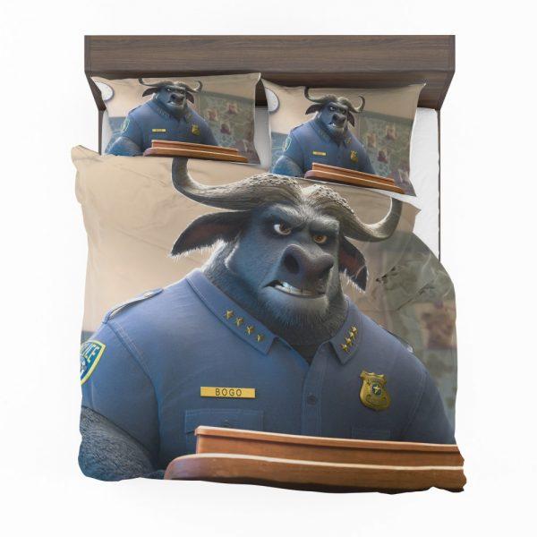 Zootopia Movie Chief Bogo Bedding Set 2