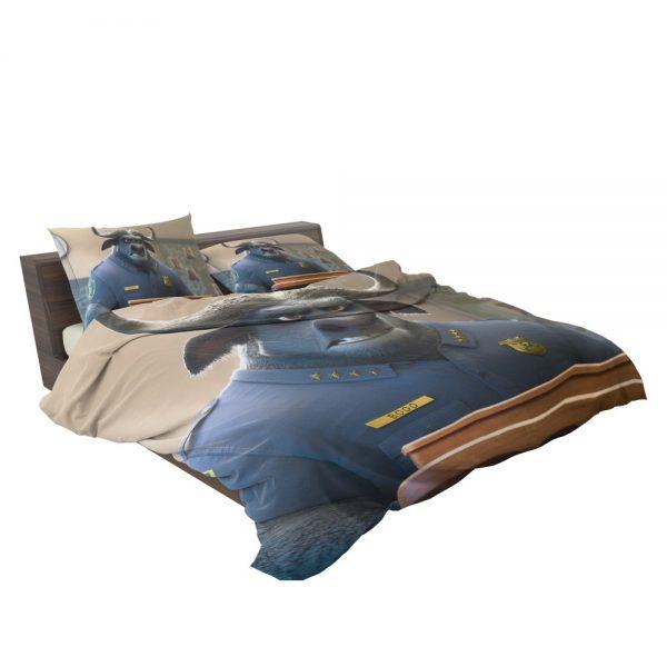 Zootopia Movie Chief Bogo Bedding Set 3