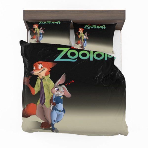 Zootopia Movie Judy Hopps Nick Wilde Bedding Set 2