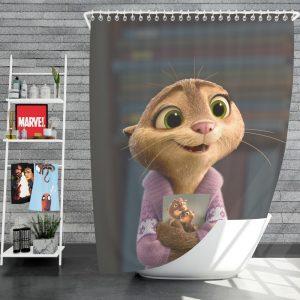 Zootopia Movie Mrs Otterton Shower Curtain