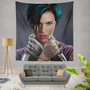 xXx Return of Xander Cage Movie Ruby Rose Wall Hanging Tapestry