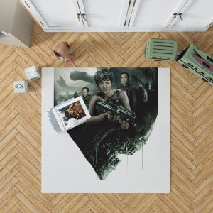 Alien Covenant Movie Katherine Waterston Michael Fassbender Xenomorph Bedroom Living Room Floor Carpet Rug 1