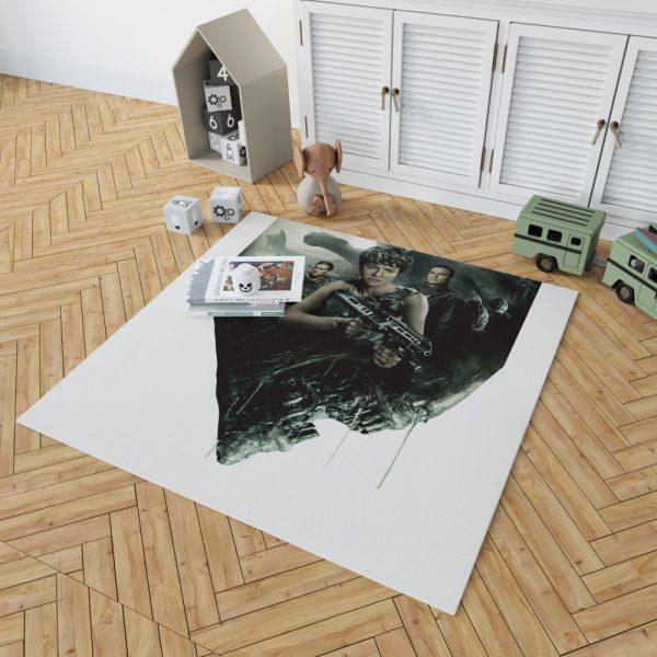 Alien Covenant Movie Katherine Waterston Michael Fassbender Xenomorph Bedroom Living Room Floor Carpet Rug 2