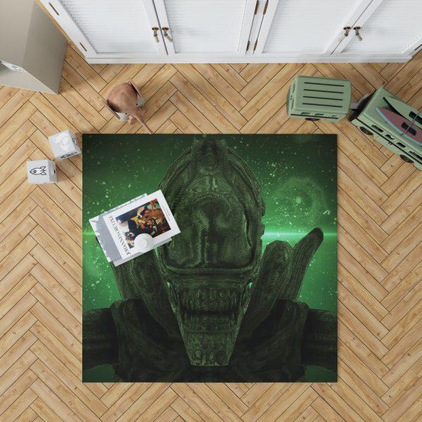 Alien Covenant Movie Xenomorph Bedroom Living Room Floor Carpet Rug 1