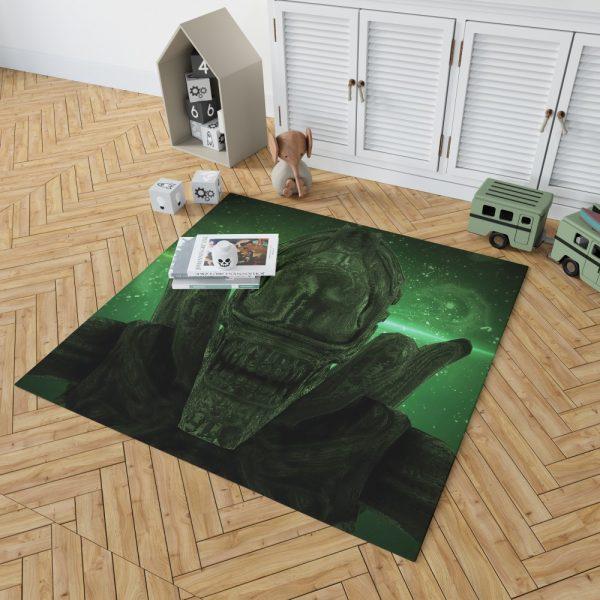 Alien Covenant Movie Xenomorph Bedroom Living Room Floor Carpet Rug 2