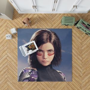 Alita Battle Angel Movie Bedroom Living Room Floor Carpet Rug 1