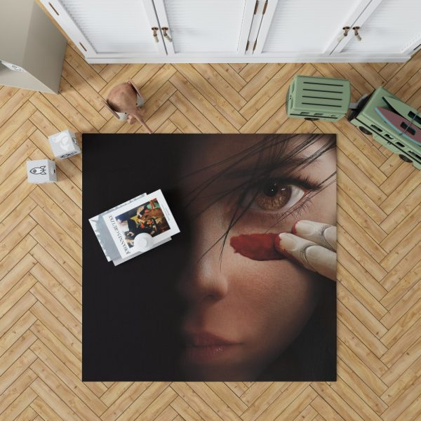 Alita Battle Angel Movie Fighting Super Girl Bedroom Living Room Floor Carpet Rug 1